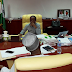 El-Rufai shares a photo of himself in his governor's office