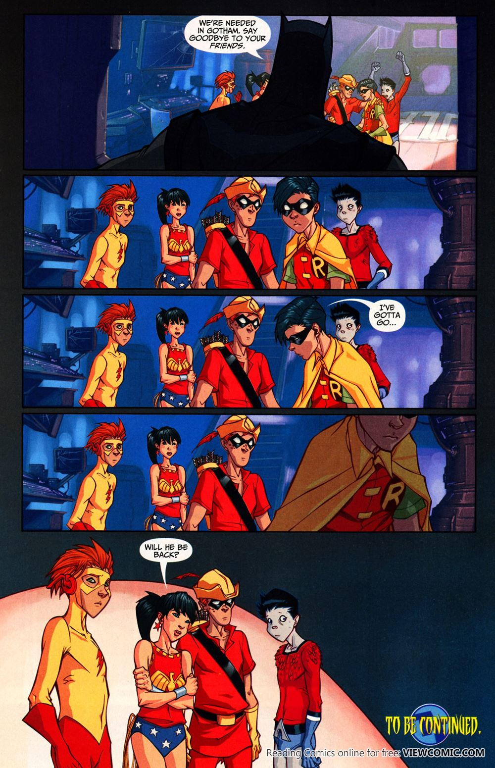 Sometime This Year Teen Titans 20