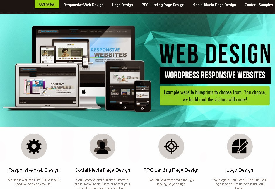 responsive websites for mobile devices