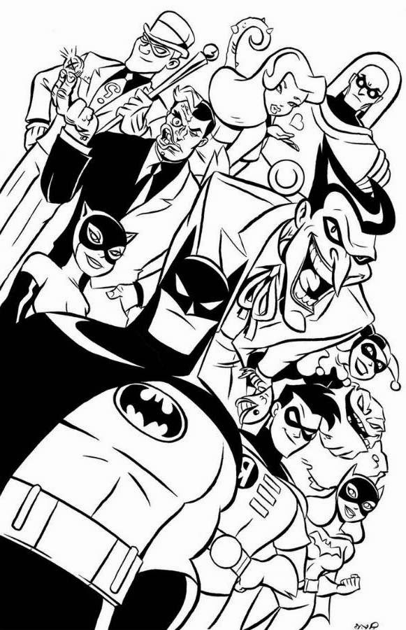 Having fun with batman coloring pages | Minister Coloring