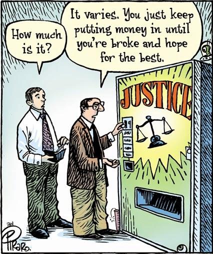 Dan Piraro: Justice.