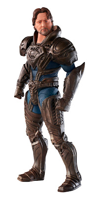 Mattel Man of Steel Movie Masters Jor-El figure