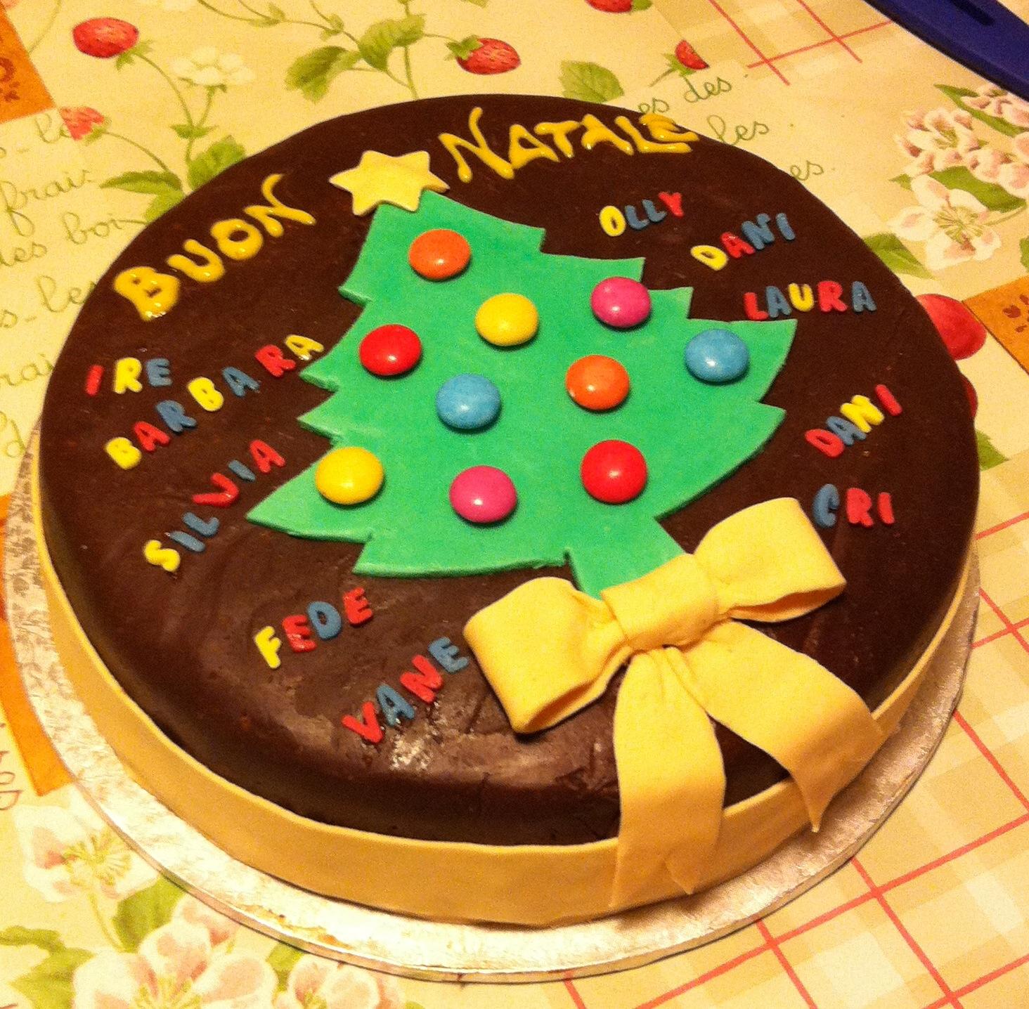 Torte di natale idee decorazioni torte di natale foto 30 - Torte natalizie decorate ...