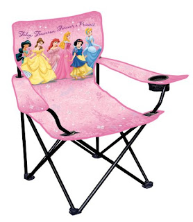 Character World Disney Princess Fairytales Camping Chair, Image