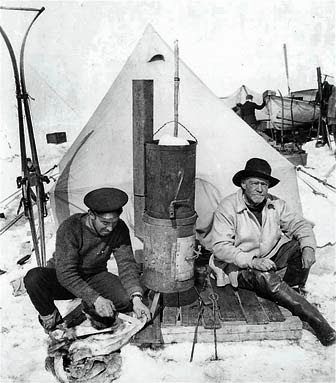 témoignage survivaliste - photo Ernest Shackleton et Frank Hurley