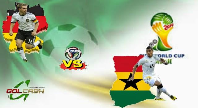 Prediksi Jerman vs Ghana