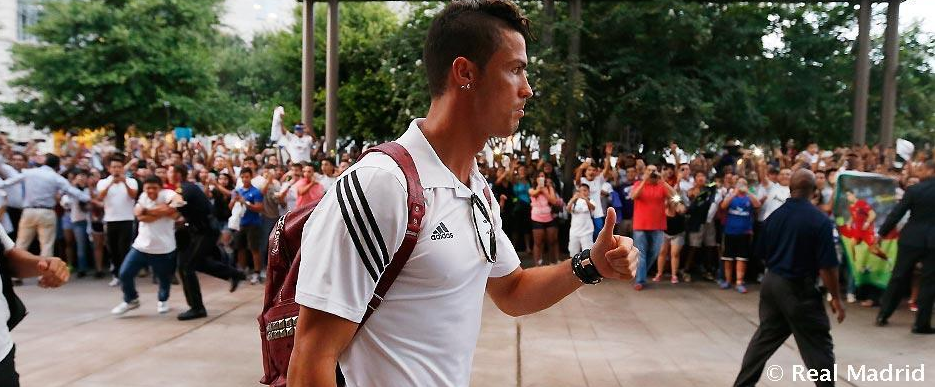 اتليتيكو مدريد, ردة فعل, رونالدو, رياضة, كريستيانو رونالدو, مقاطع فيديو,