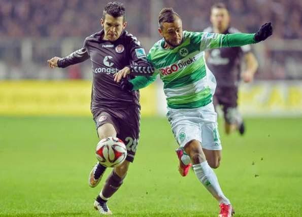FC St. Pauli perde para o Fürth