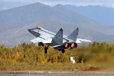 MiG-31 Jatuh di Dekat Krasnoyarsk