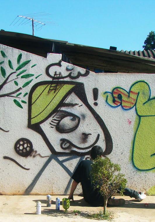 Graffitis favela