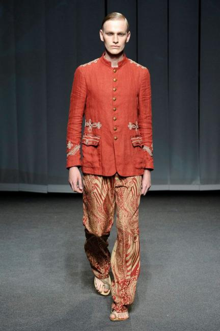 Etro Spring-Summer 2013 Menswear Photo 9