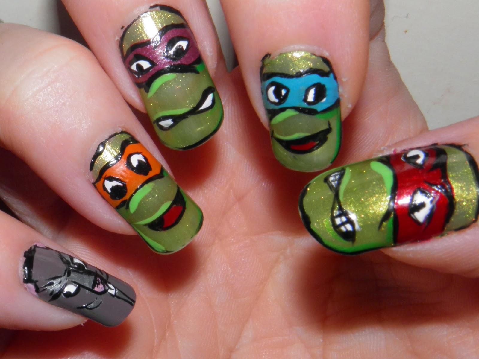 Streams of Whiskey and Nail Polish: Teenage Mutant Ninja Turtles