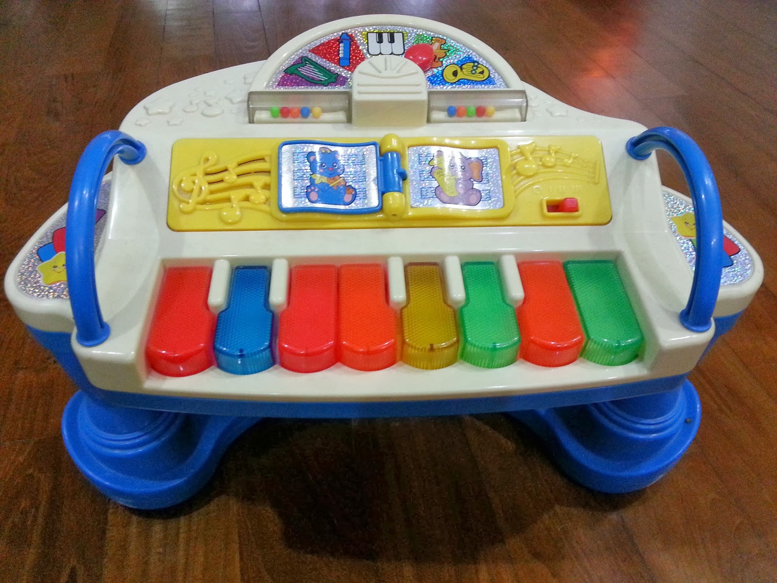 pretty cheap stuffs preloved fisher price rock play piano without seat 8