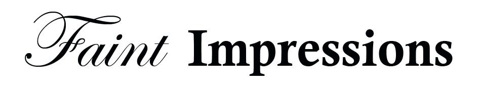 Faint Impressions