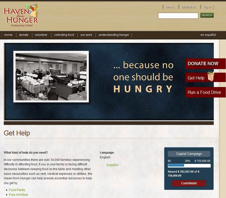 http://havenfromhunger.org/?q=get-help
