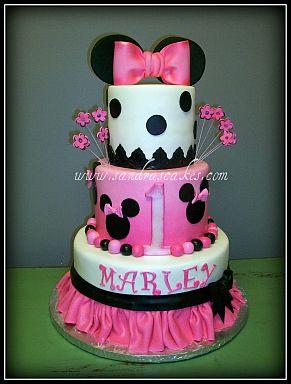 Pasteles De Minnie Mouse