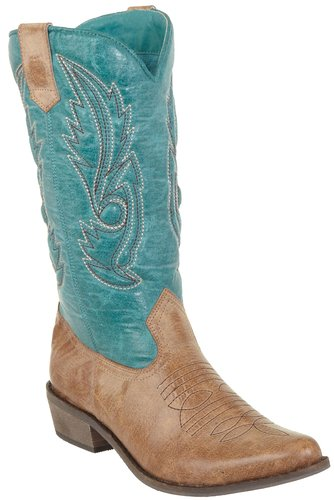 total fab turquoise cowboy boots for even wide