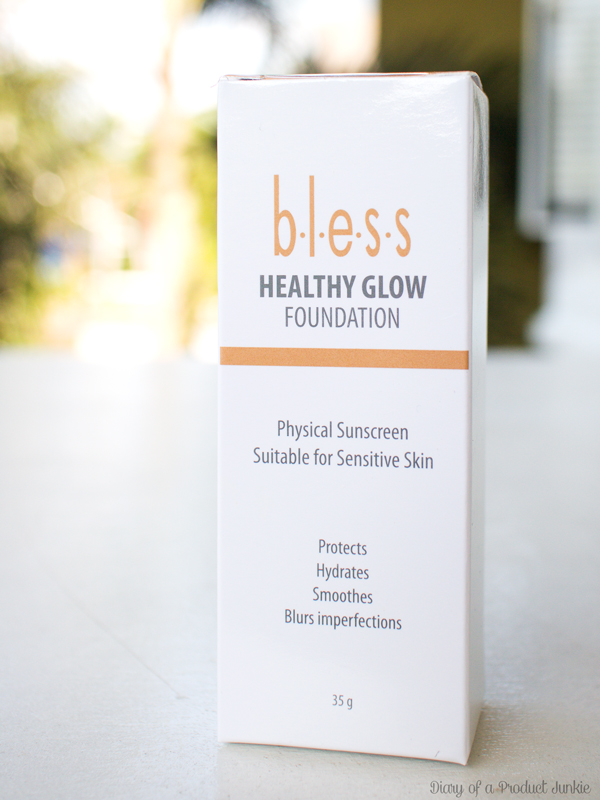 box of bless healthy glow foundation review