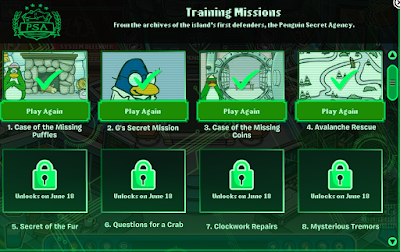 Club Penguin Mission Cheats Return