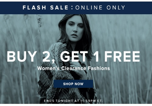 Hudson's Bay Flash Sale Buy 2 Get 1 Free Women's Clearance Fashion