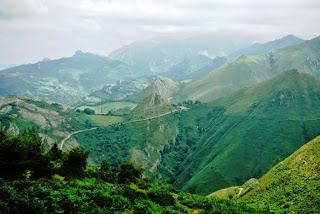 Vista desde la cima del Priena