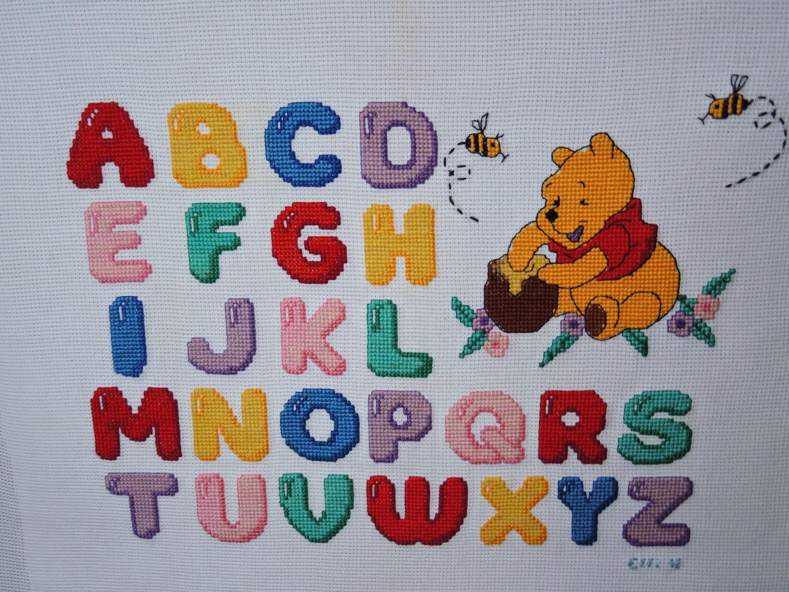 авфавит вышивка буквы английский