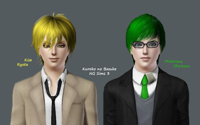 Готовые персонажи: персонажи книг/фильмов/сериалов/игр/аниме/мультфильмов. - Страница 2 Kuroko+no+Basuke+Sims+by+NGSims3