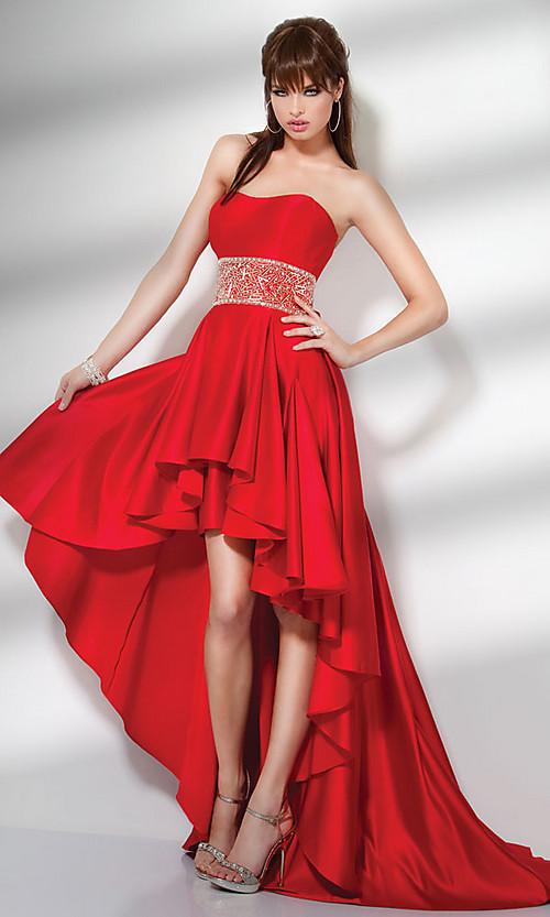 Maquillaje de noche para vestido rojo con dorado