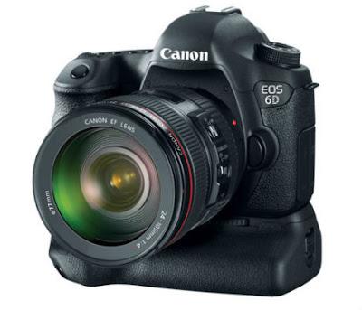 Canon Terbaru : Spesifikasi dan Harga Canon EOS 6D