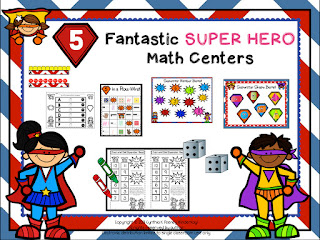 https://www.teacherspayteachers.com/Product/Five-Fantastic-Super-Hero-Math-Centers-1000792