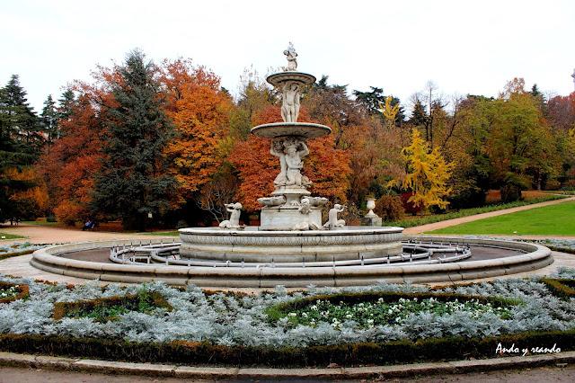 Otoño en los jardines del Moro-Madrid