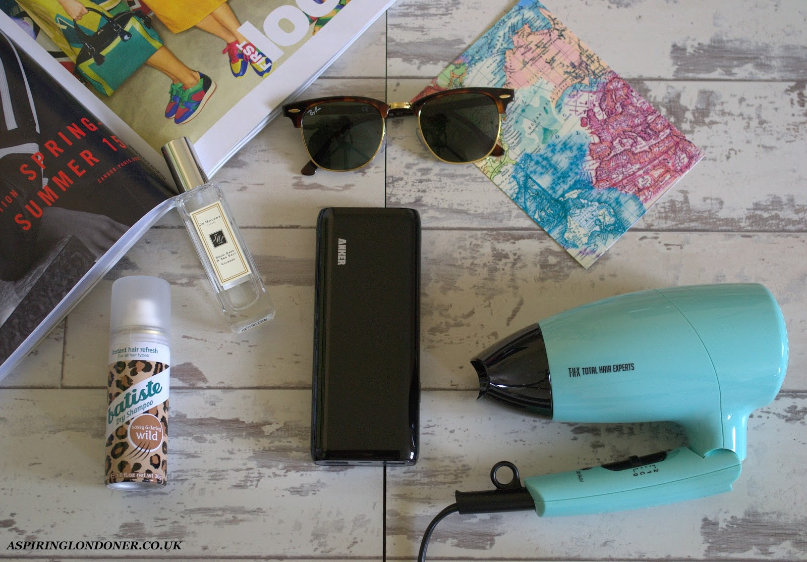 My Favourite Travel Essentials - Aspiring Londoner