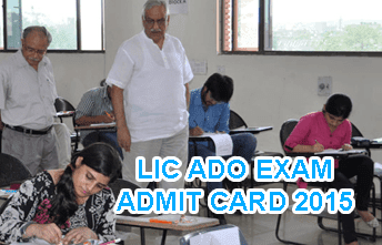 Life Insurance Corporation (LIC) of India ADO Admit Card 2015, LIC Apprentice Hall Ticket 2015 Download from licindia.in 13 July 2015, LIC ADO Online Exam Call Letter 2015, LIC Apprentice Development Officer Call Letter 2015, LIC ADO Admit Card July 2015