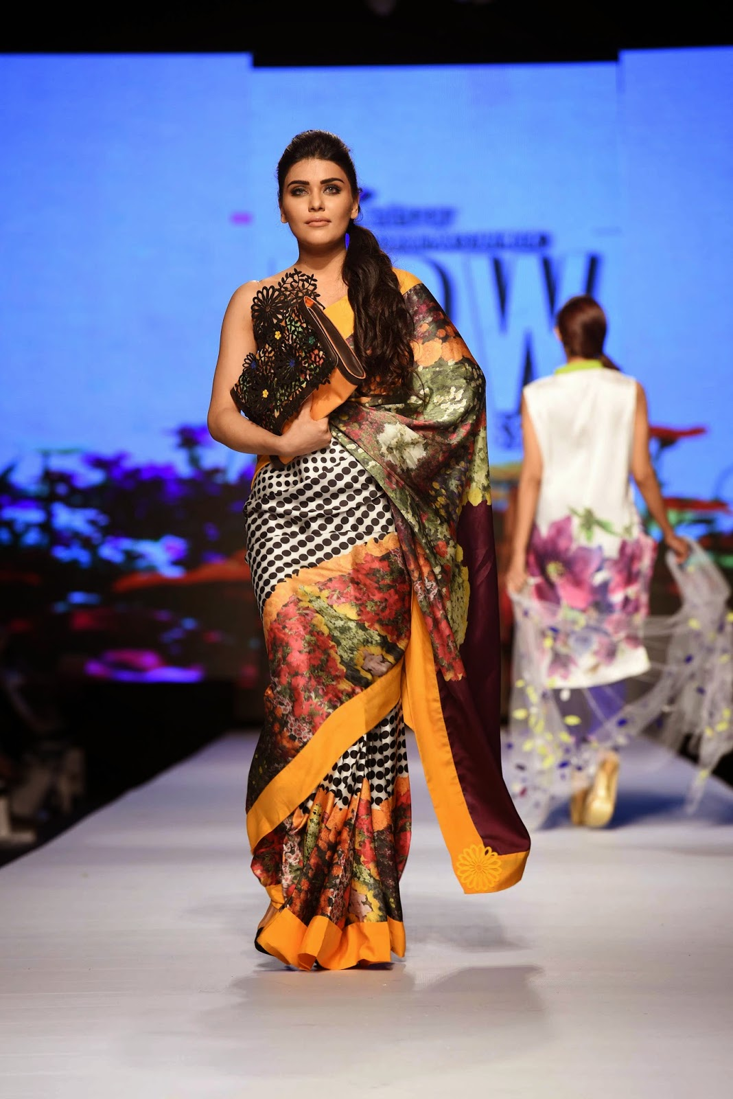 Madiha Raza Telenor Fashion Pakistan Week 2015 Day 1