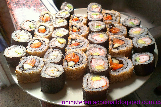 Sushi, maki y uramaki
