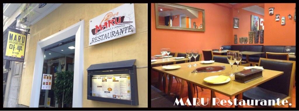 MARU Restaurante. [coreano y japonés]