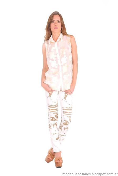 Camisas Ossira primavera verano 2014 colección.