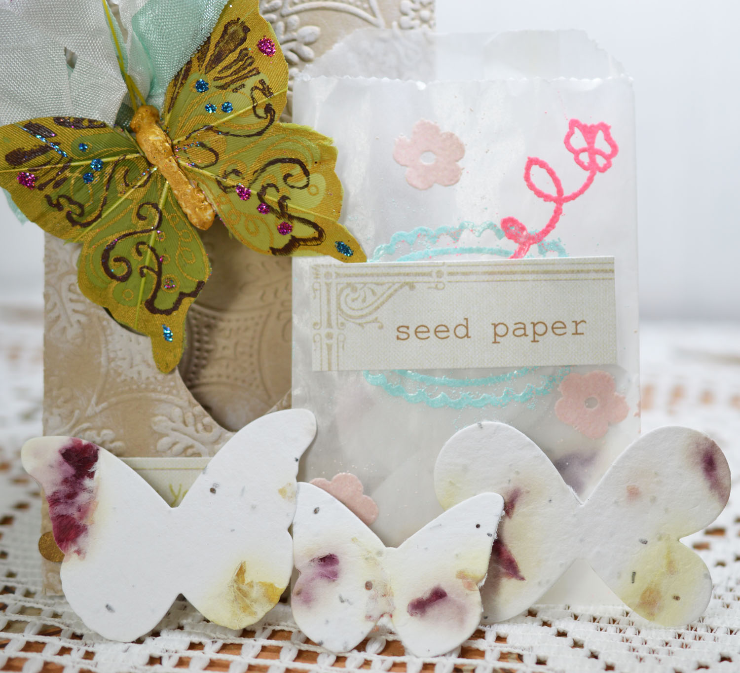 Lori Hairston: Wildflower Seed Paper Mini Event + Giveaways