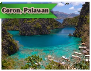 Coron ispart of the Calamian group of islands in Northern Palawan .If