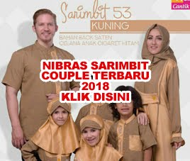 NIBRAS SARIMBIT COUPLE TERBARU 2018
