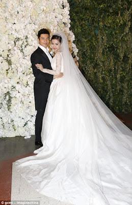 Angelababy wedding photos
