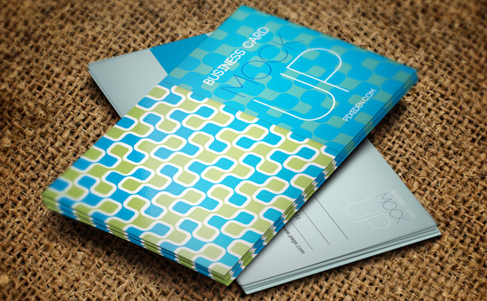 Psd Business Card Mock-Up Vol 1