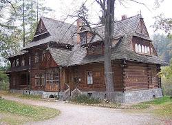 Willa Koliba, zaprojektowana przez Stanisława Witkiewicza, obecnie oddział Muzeum Tatrzańskieg