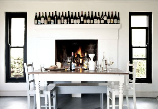 Safari Fusion blog | Monochrome | Comtemporary farm style at Badenhorst Farm Cottage, Swartland, South Africa