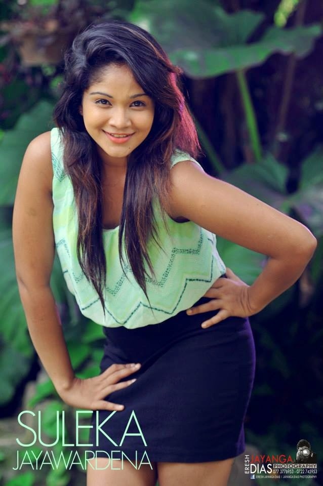 Suleka Jayawardena black hot