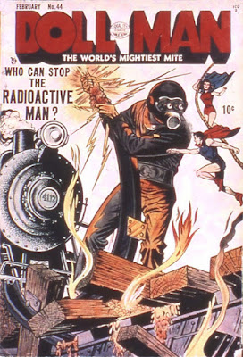 Doll Man 44 cover: Radioactive Man