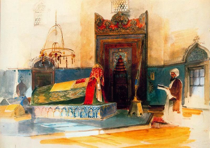La Tumba del Sultán Beyazit John Lewis