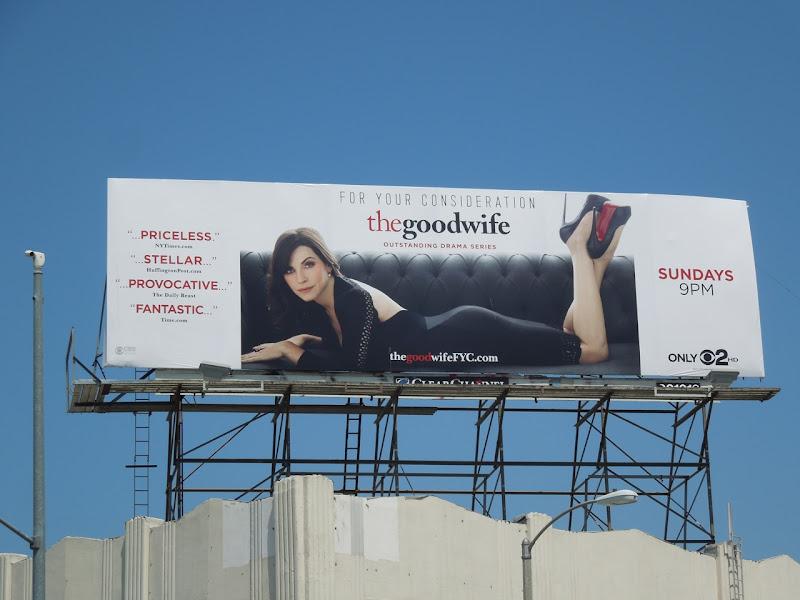 Good Wife Emmy 2012 billboard