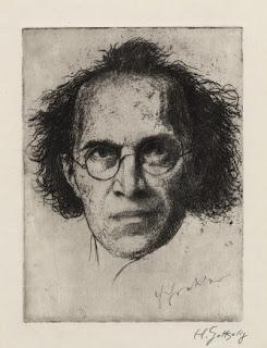 ets van Franz Schreker door Heinrich Gottselig