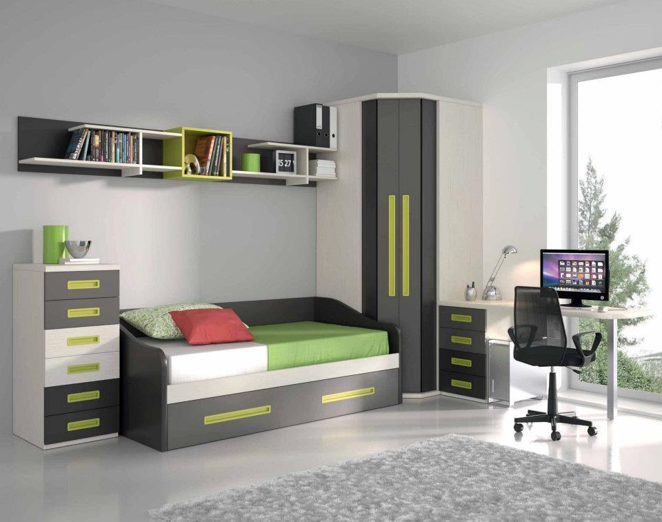 Dormitorios juveniles economicos - Habitaciones de dos camas juveniles ...